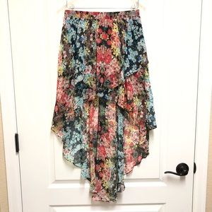 Anthropologie Joe Benbasset polyester skirt